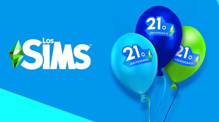 Blog oficial: ¡abrid 21 regalos por los 21 años de Los Sims!