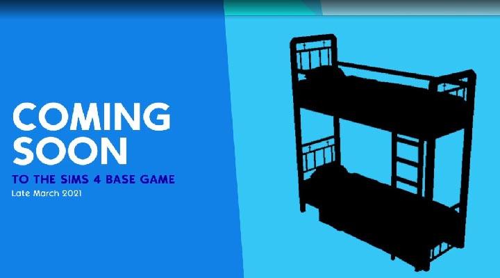 Las literas llegan a Los Sims 4 a finales de marzo