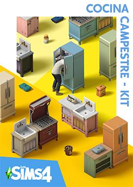 Los Sims 4 Cocina Campestre - Kit