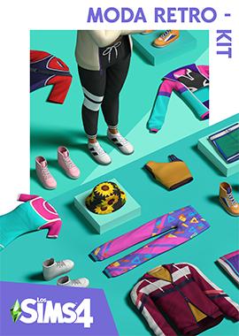 Los Sims 4 Moda Retro - Kit