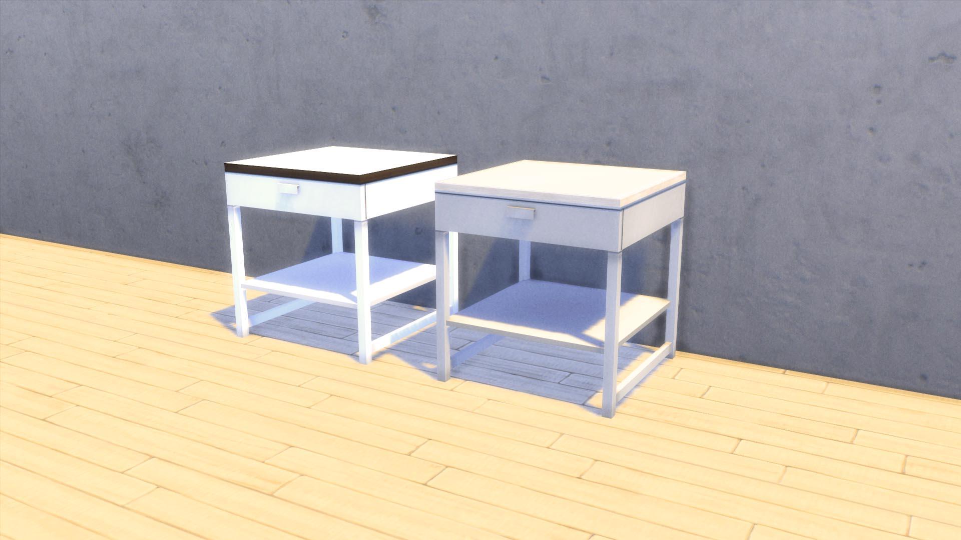 Mesita nº1, CC para Los Sims 4