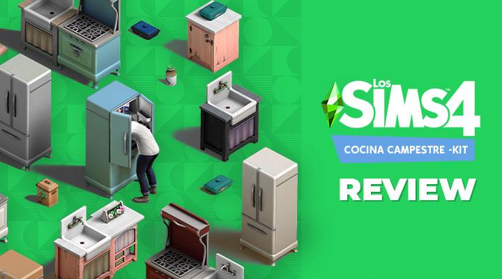 Los Sims 4 Cocina Campestre – Kit: review
