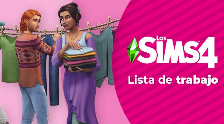Lista de trabajo de Los Sims 4 | Abril de 2021