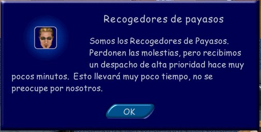 Recogedores de payasos en Los Sims 1