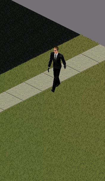 Recogedor de payasos en Los Sims 1