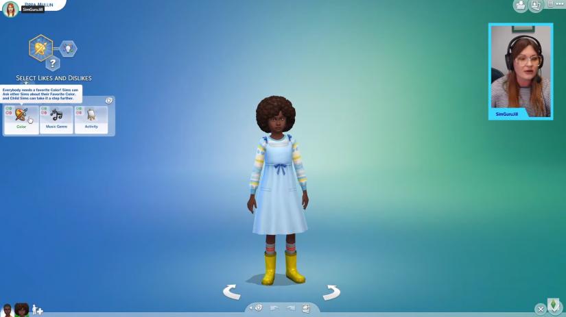 Gustos en Los Sims 4