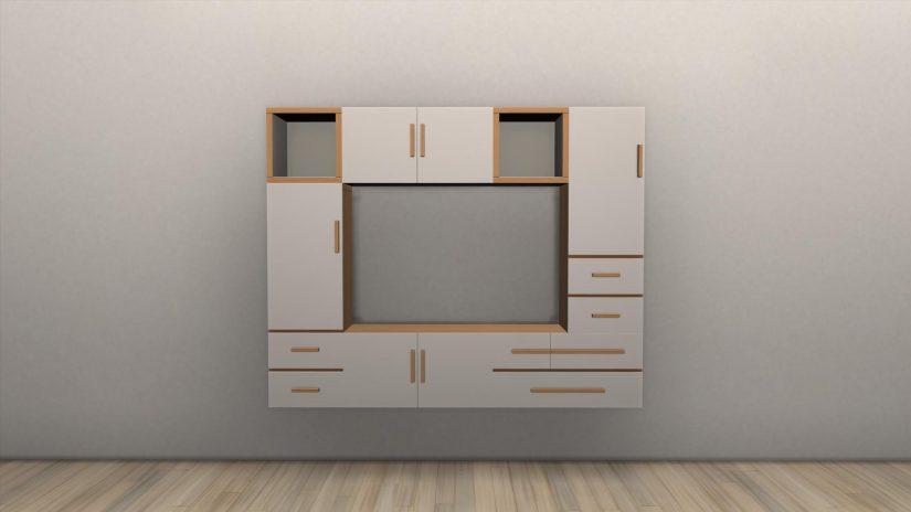 Muebles modulares en Los Sims 4 Interiorismo