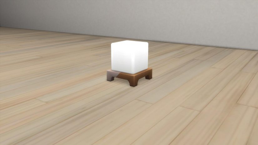 Lámpara de sobremesa de Los Sims 4 Interiorismo