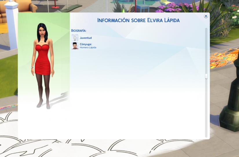 La ventana de información del Sim no se muestra correctamente