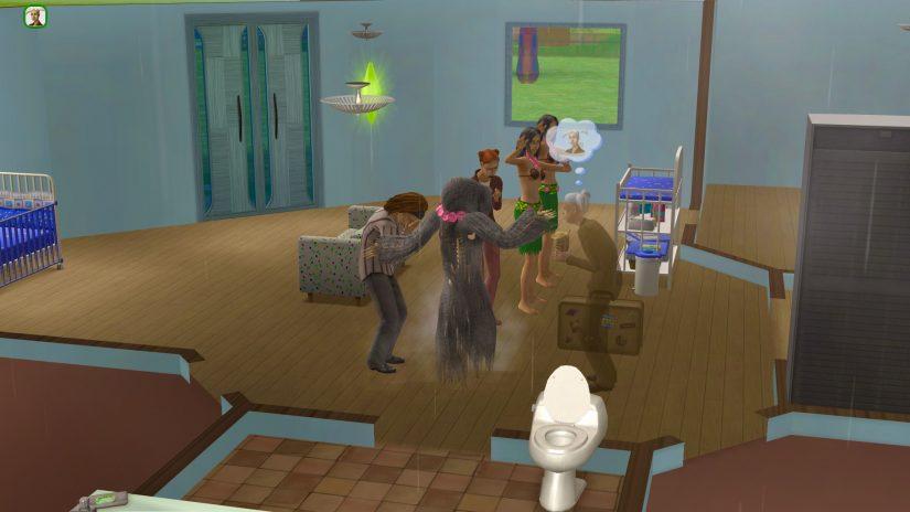 Muerte de un Sim en Los Sims 2