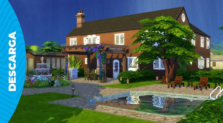 Granja enladrillada | Descarga para Los Sims 4